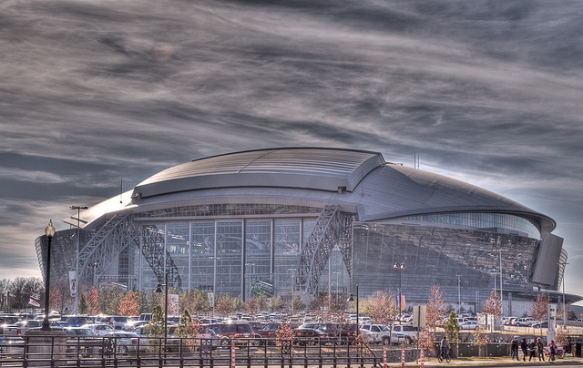 Dallas Cowboys Stadium Finished